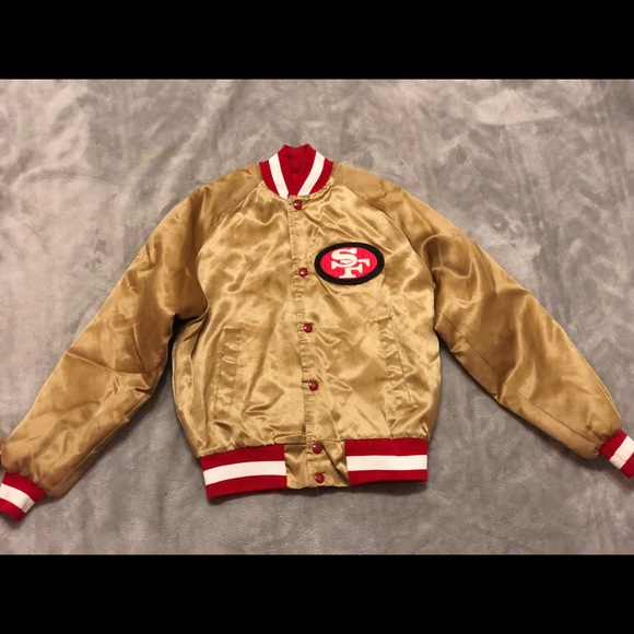 quality design a86ca efac1 Chalk line San Francisco 49ers Youth Jacket 14/16